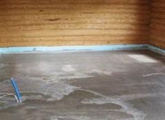 Как сделать стяжку на деревянный пол