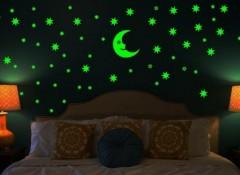 Существующие виды светящихся наклеек на стену