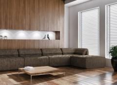 Использование для внутренней отделки стен деревянных обоев
