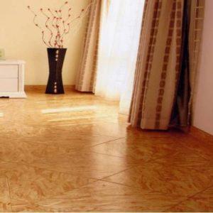 ОСБ плита на полу — чем лучше покрыть?