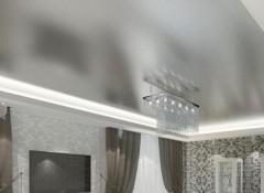 Варианты создания потолков «под металл»