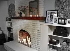 Преимущества и варианты применения в интерьере стен из белого кирпича