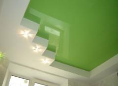 Варианты создания ступенчатых потолков