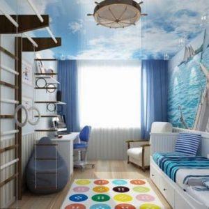 Использование в интерьере детской комнаты морского стиля
