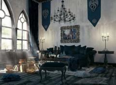 Применение в интерьере стиля готика