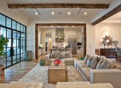 Оформление интерьера загородного дома в американском стиле