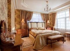 Оформление интерьера спальни в английском стиле