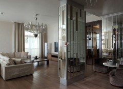 Особенности использования колонн в интерьере гостиной