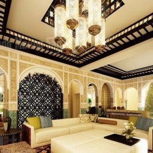 Использование в интерьере гостиной марокканского стиля