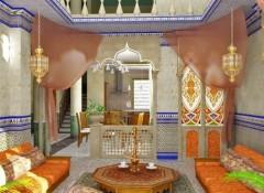 Оформление интерьера в османском стиле