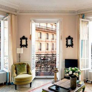 Оформление интерьера в парижском стиле