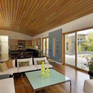 Основные черты и варианты потолков в эко стиле