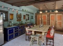 Оформление кухни в стиле эклектика