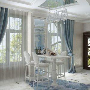 Использование стиля неоклассика в оформлении интерьера дома