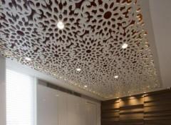 Виды, особенности и монтаж резных панелей на потолок