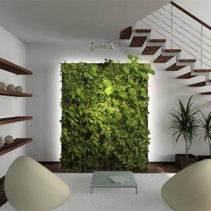 Основные особенности и материалы для оформления стен в эко-стиле