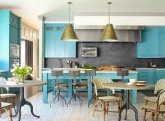 Использование стиля фьюжн в интерьере кухни