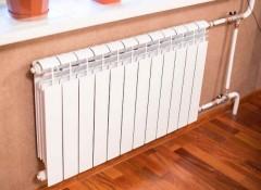 Основные способы отделки стен за батареями отопления