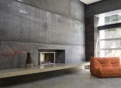Варианты отделки стен под бетон