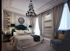 Использование стиля неоклассика в оформлении спальни