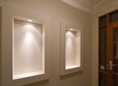 Особенности создания и примеры ниш в стене с подсветкой