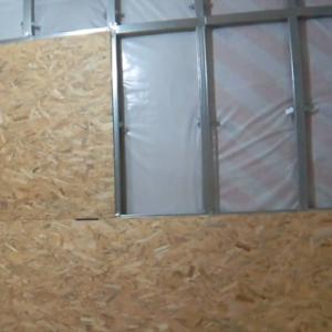 Как на стены сделать обрешетку под ОСБ?