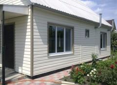 Использование металлического сайдинга для отделки фасада дома