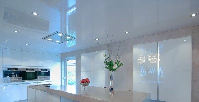 Основные варианты отделки потолка