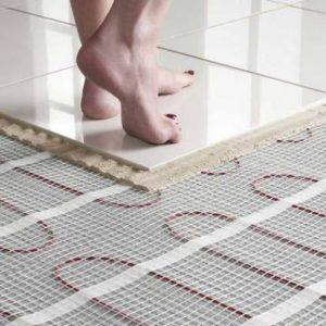 Использование в квартире теплых электрических полов