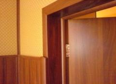 Отделка дверных откосов — основные варианты