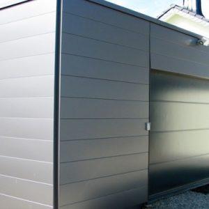 Использование для наружной отделки фасадных металлических панелей