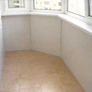 Как утеплить пол под плитку на балконе?