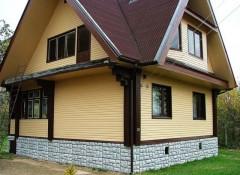Основные виды отделки фасада частного деревянного дома