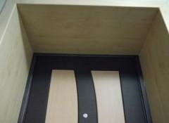 Использование панелей МДФ для отделки дверных откосов