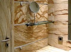 Особенности применения для отделки стен песчаника