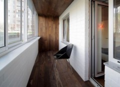 Использование на балконе теплого пола под ламинат