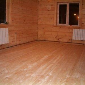 Варианты утепления пола в деревянном доме
