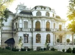 Использование в оформлении фасадов стиля барокко
