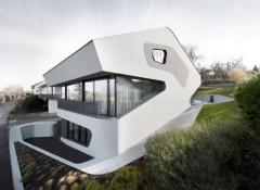 Стиль модерн в оформлении фасада
