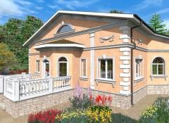 Использование классического стиля в оформлении фасада