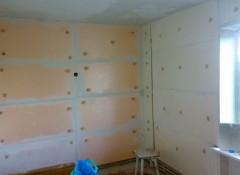 Использование пеноплекса для утепления стен изнутри