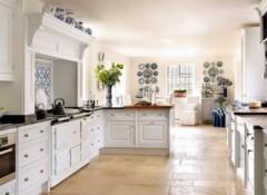 Особенности выбора фасада в стиле прованс для кухни