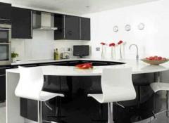 Использование стиля модерн в оформлении интерьера кухни