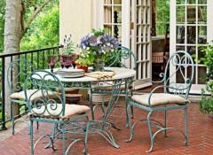 Использование стиля прованс в оформлении террасы