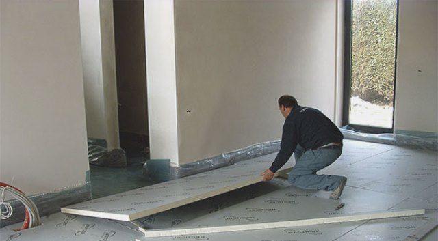 Как в частном доме выполняется утепление бетонного пола?