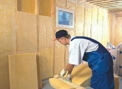 Как внутри каркасного дома выполняется утепление стен?