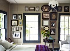 Создание на стене домашней фотогалереи