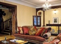 Использование стиля модерн в оформлении гостиной