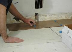 Пол из ГВЛ — как класть плитку?