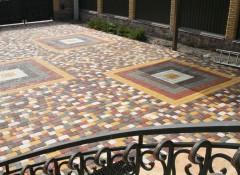Как своими руками покрасить тротуарную плитку?
